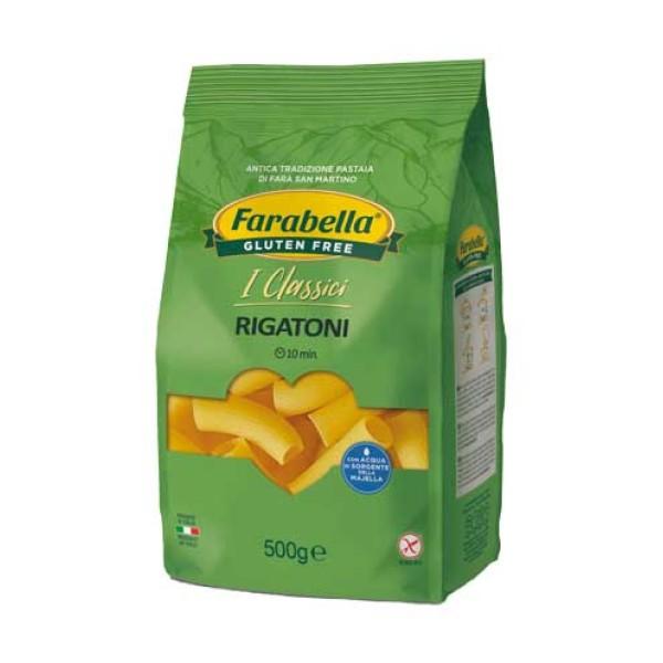 Farabella Senza Glutine Pasta Rigatoni 500 grammi
