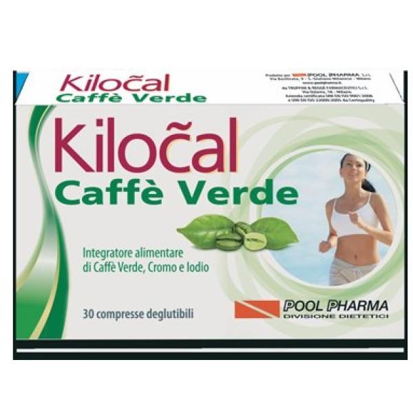 Kilocal Caffe' Verde 30 Compresse - Integratore Dietetico