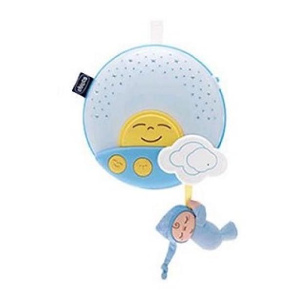 Chicco Gioco Proiettore Pannello Tramonto Azzurro 0 - 36 mesi