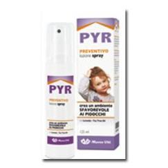 Pyr Viti Lozione Spray Preventivo Pidocchi 125 ml