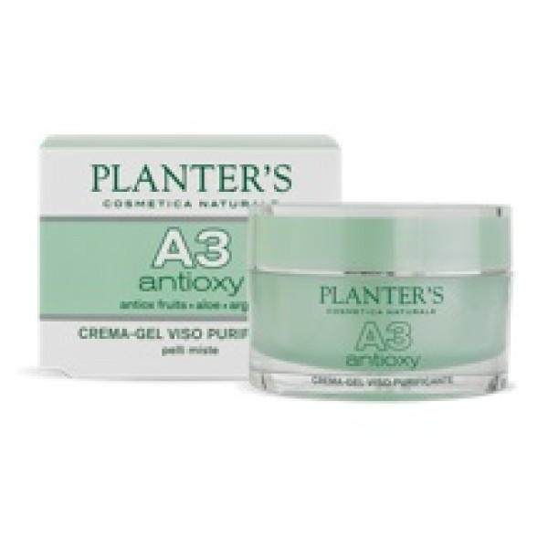 Planter's A3 Crema Gel Viso Purificante Antiossidante 50 ml