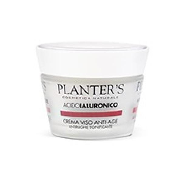Planter's Acido Ialuronico Crema Viso Antirughe Tonificante 50 ml