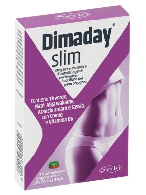 Dimaday Slim 15 Compresse - Integratore Alimentare