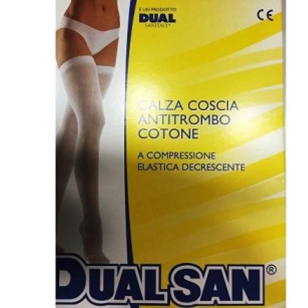 DualSan Calza Anti Trombosi senza Tassello Taglia 4