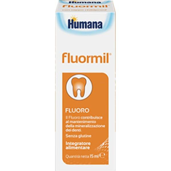 Humana Fluormil Gocce Integratore Alimentare 15 ml