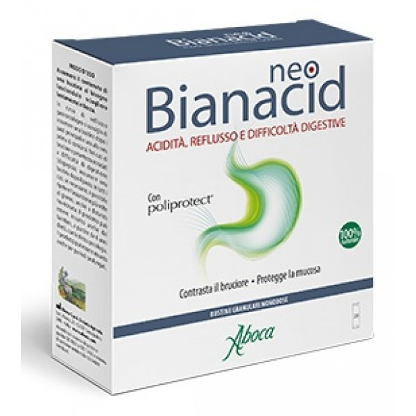 Aboca NeoBianacid 20 Bustine - Integratore Acidita' e Reflusso