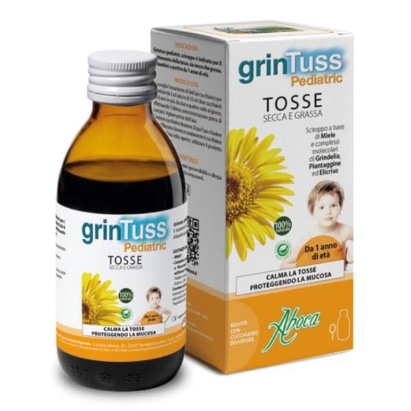 Aboca Grintuss Pediatric Sciroppo Tosse Secca e Grassa 180 grammi