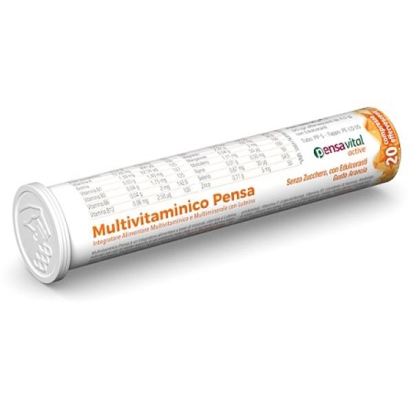 Multivitaminico Pensa 20 Compresse Effervescenti - Integratore Alimentare