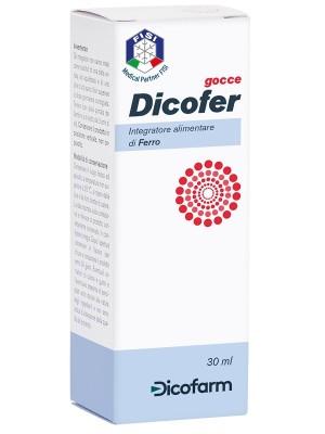Dicofer Gocce 30 ml - Integratore di Ferro