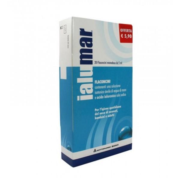 Ialumar Soluzione Isotonica con Acido Ialuronico 20 Flaconcini Monodose 5 ml