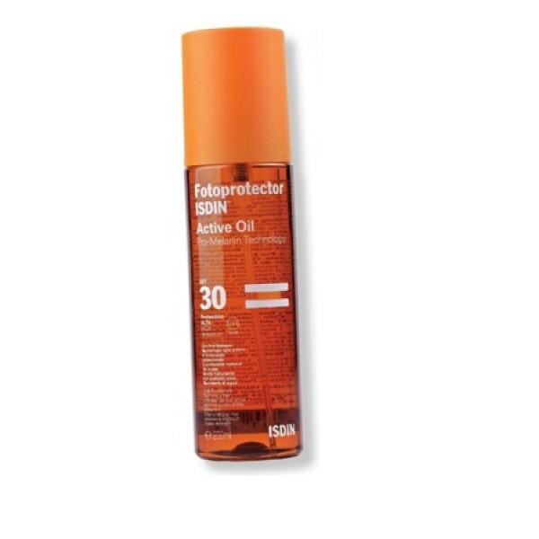 Isdin Fotoprotector Active Olio Solare SPF 30 200 ml