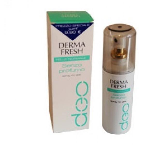 Dermafresh Deodorante Spray Senza Profumo 100 ml