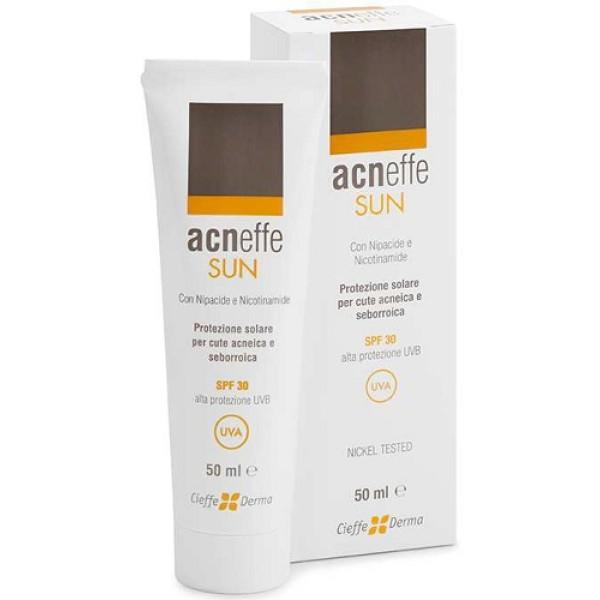 Acneffe Sun Protezione Solare SPF 30 Per Pelle Acneica e Seborroica 50 ml