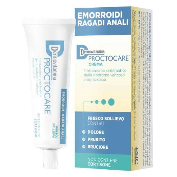 DermoVitamina ProctoCare Crema Emorroidi Ragadi Anali 30 ml
