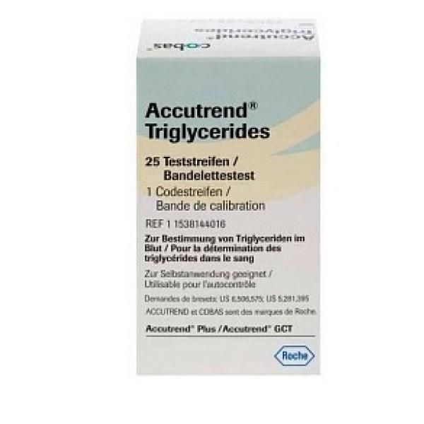 Accutrend Trigliceridi 25 Strisce Reattive