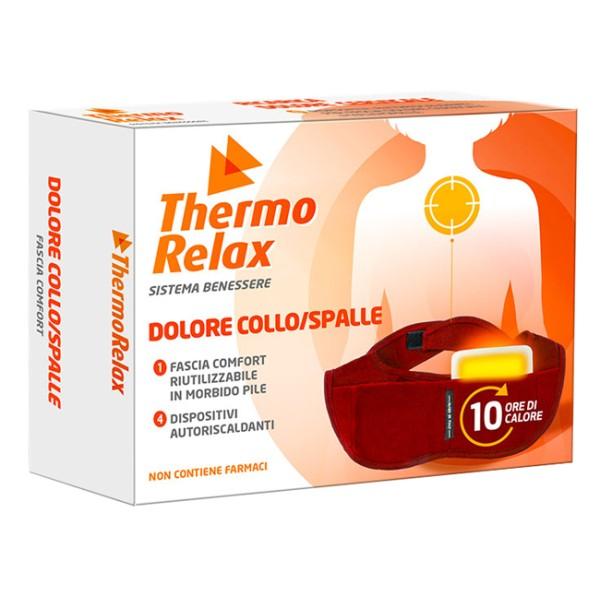 Thermo Relax Fascia per Collo e Spalle 4 Ricariche