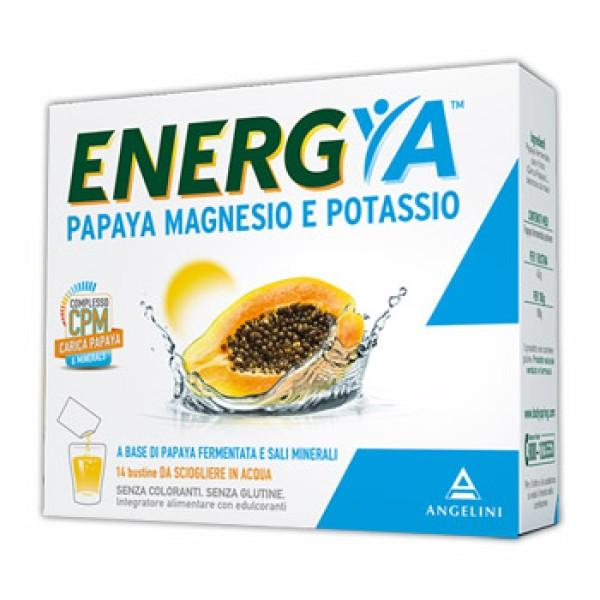 Energy Papaya Magnesio e Potassio 14 Bustine