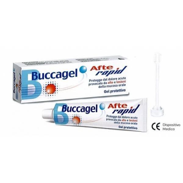 Buccagel Afte Rapid Gel Protettivo Mucosa Orale 10 ml
