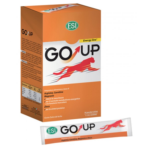 Esi Go Up Integratori Energizzante 16 Pocket Drink