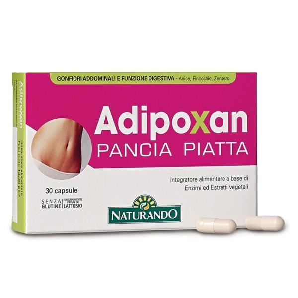 Adipoxan Pancia Piatta 30 Compresse - Integratore Alimentare