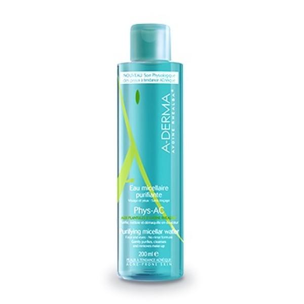 A-Derma Phys-Ac Acqua Micellare Purificante Pelle Grassa 200 ml