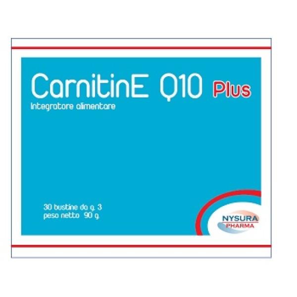 CARNITINE Q10 Plus 30 Bust.