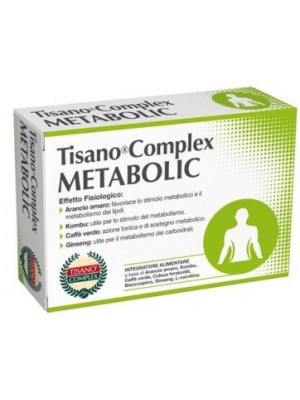 Tisanoreica Tisano Complex Metabolic 30 Compresse - Integratore Dimagrante
