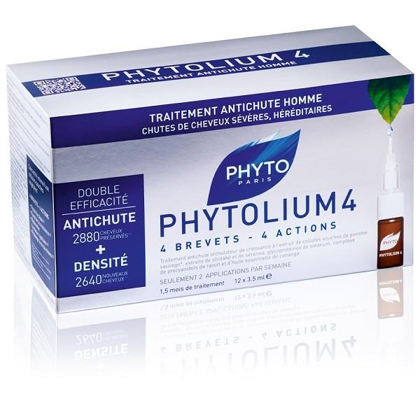 Phytolium 4 Trattamento Fiale Anticaduta Uomo 12 x 3,5 ml