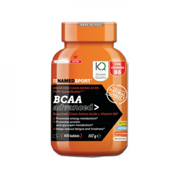 Named Sport BCAA Advanced 100 Compresse - Integratore Alimentare