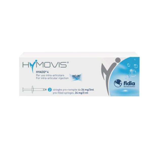 Hymovis per Iniezioni Intra-Articolari 24 mg 2 Siringhe Pre-Riempite