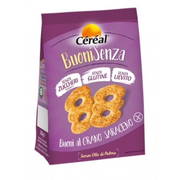 Cereal Buoni Grano Saraceno Senza Glutine 200 grammi
