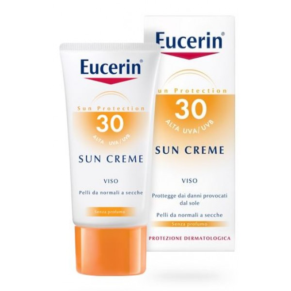 Eucerin Sun Crema Viso SPF 30 50 ml