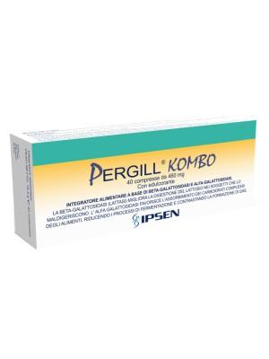 Pergill Kombo 40 Compresse - Integratore Benessere Intestinale