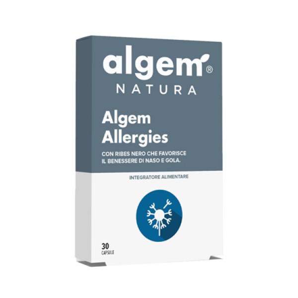 Algem Allergies 30 Capsule - Integratore Benessere Naso e Gola
