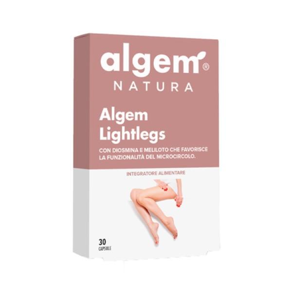 Algem Light Legs 30 Capsule - Integratore per Gambe Pesanti