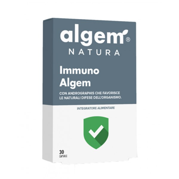 Algem Immuno 30 Capsule - Integratore Difese Immunitarie