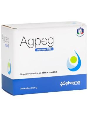 Agpeg Magrocol 3350 30 Bustine - Integratore Lassativo