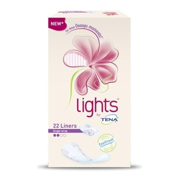 Lights by Tena Normal Proteggi Slip 22 Pezzi