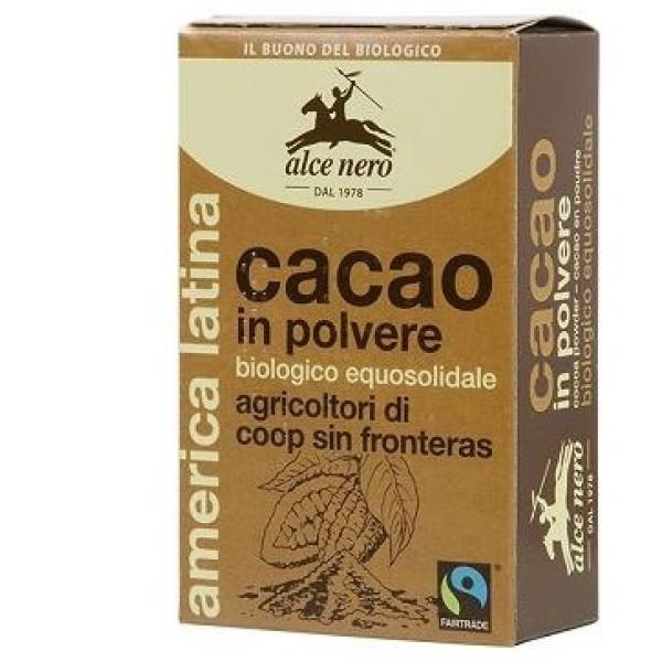 Alce Nero Cacao Amaro in Polvere Biologico 75 grammi