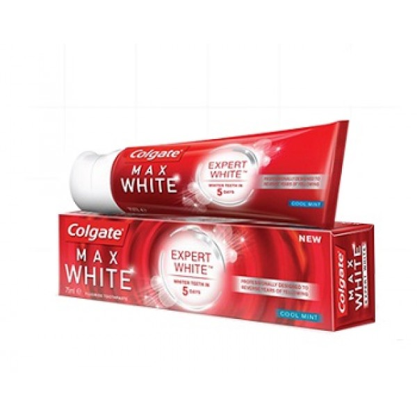 Colgate Max White Expert White Dentifricio Sbiancante 75 ml