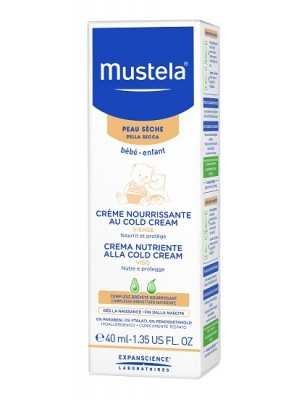 Mustela Crema Nutriente alla Cold Crema Bambino 40 ml