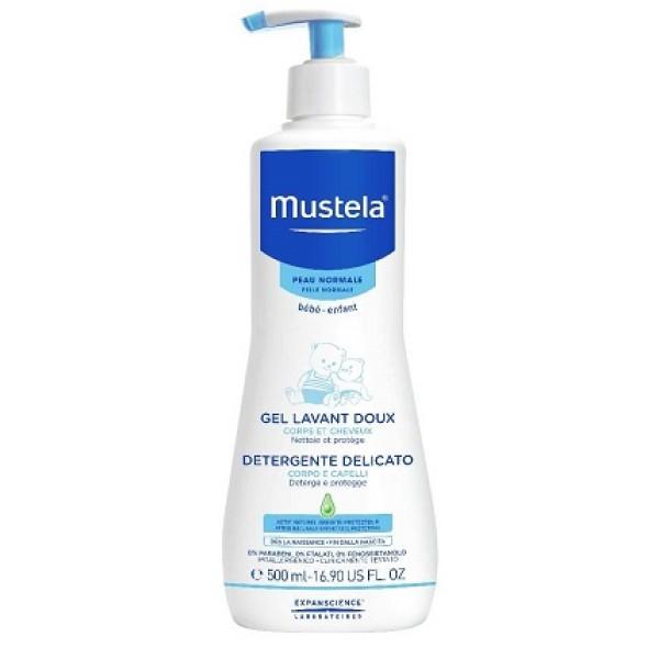 Mustela Detergente Delicato Corpo e Capelli 500ml