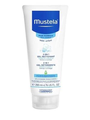 Mustela 2 in 1 Gel Detergente Corpo e Capelli Bambini 200 ml