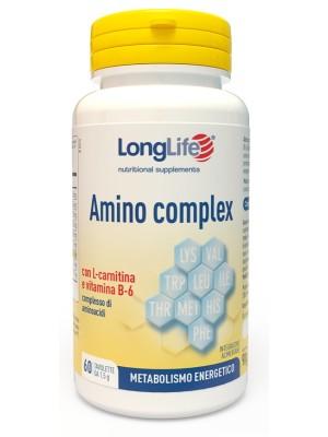 Longlife Amino Complex 60 Compresse - Integratore di Proteine del Siero di Latte