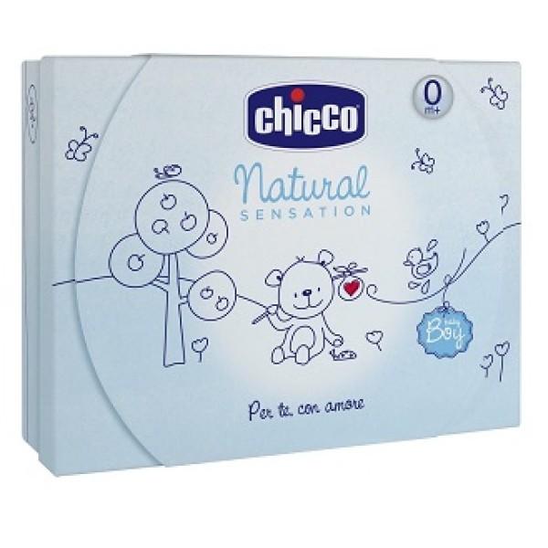Chicco Natural Sensation Cofanetto Regalo Grande Azzurro