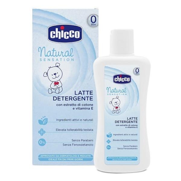 Chicco Natural Sensation Latte Detergente 500 ml