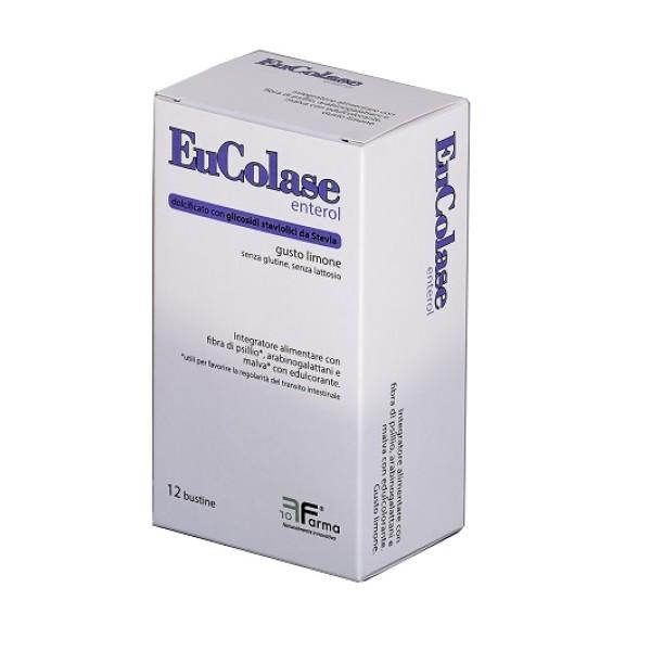 EUCOLASE Enterol 12 Bust.
