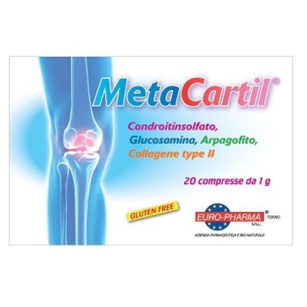 Metacartil 20 Compresse - Integratore Vitamine e Glucidi