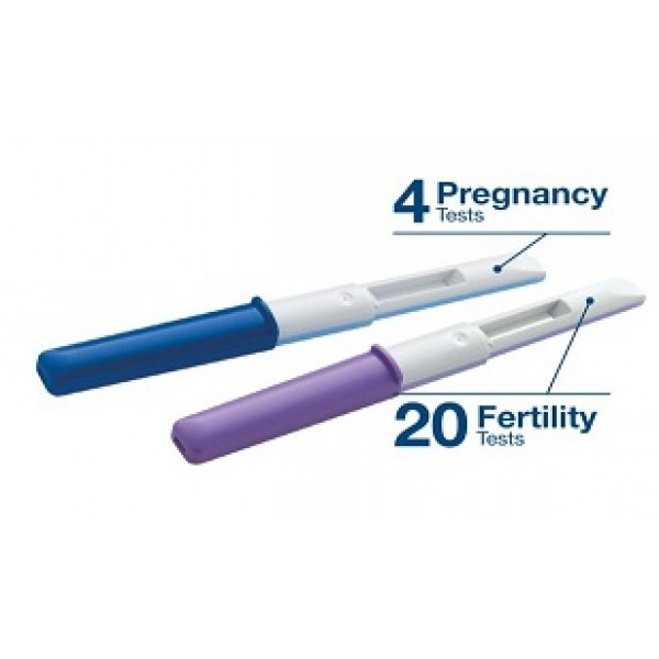 Clearblue Advanced Test di Ricambio per Monitor di Fertilità 20 Test di Fertilità + 4 Test di Gravidanza