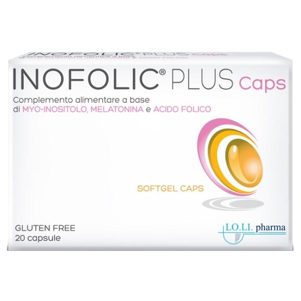 Inofolic Plus 20 Capsule - Integratore di Acido Folico